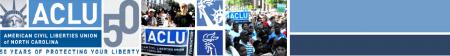 ACLU of NC banner
