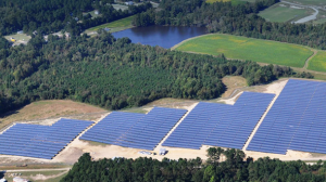 Solar farm in North Carolina