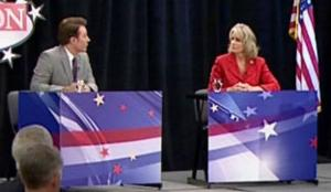 Ellmers gets ugly in debate with Clay Aiken